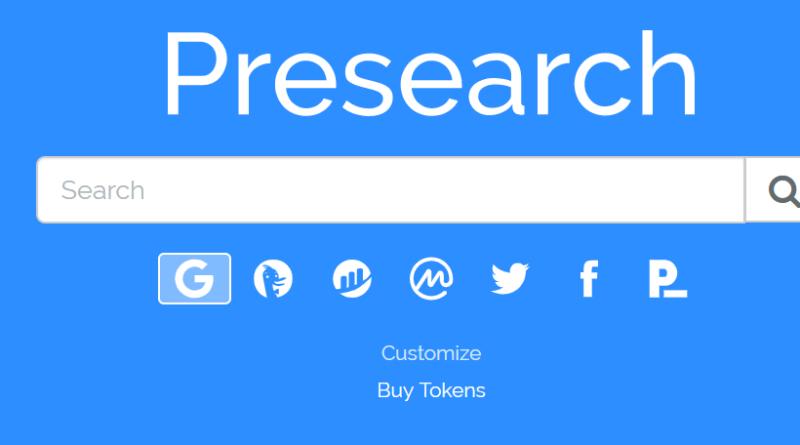 Presearch, le moteur de recherche qui vous récompense en PRE